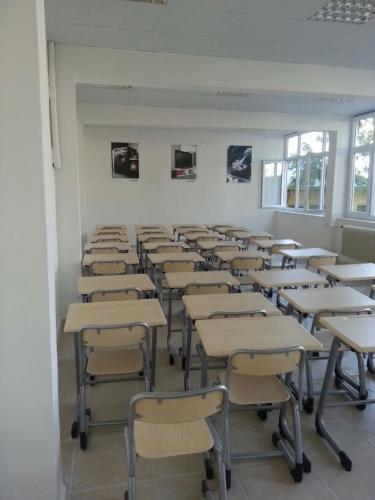 Arçelik için özel tasarlanmış mesleki eğitim sınıfları inşa edilmiştir